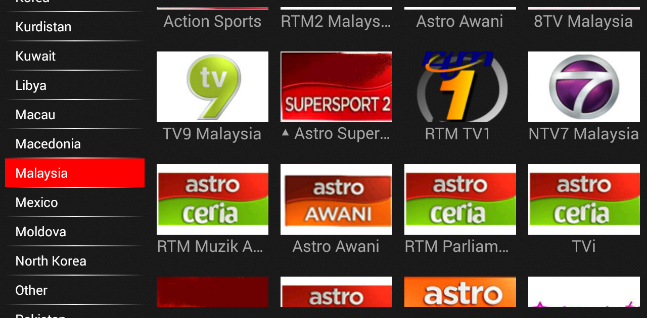 Astro Channels available on MINIX players via Cloudtv app