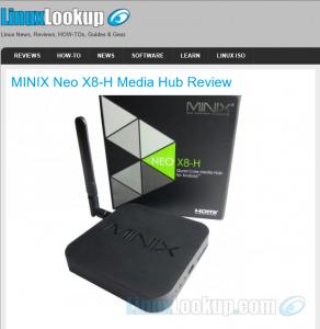 Minix neo x8-h media hub review by linuxlookup