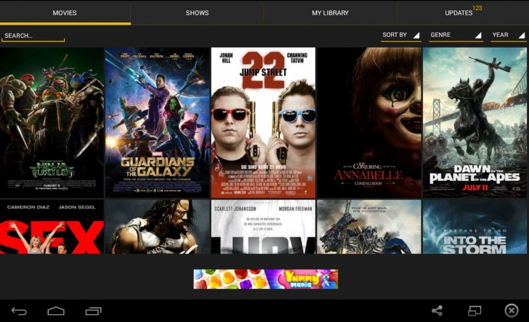 Showbox Movies Available On All MINIX Players