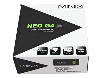 MINIX Neo G4 Brought to you by Amconics Technology, Local Authorized MINIX Distributor, www.myonlinemediaplayer.com