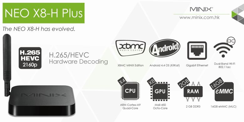 MINIX Neo X8H Plus Brought to you by Amconics Technology, Local Authorized MINIX Distributor, www.myonlinemediaplayer.com