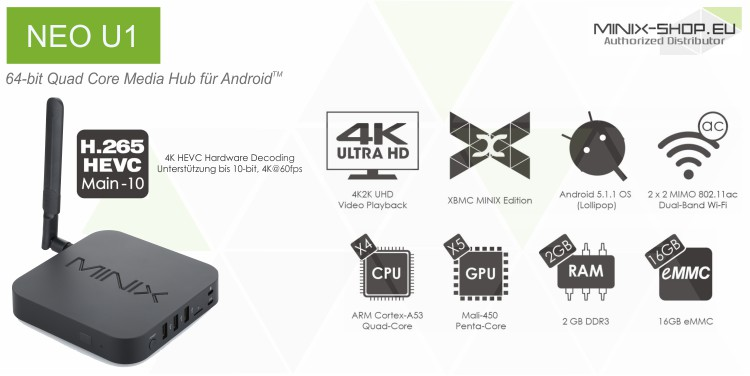 Minix Neo U1 Android Tv Box Singapore by Amconics Technology Pte Ltd, the only authorized distributor in Singapore. Visit www.myonlinemediaplayer.com for more information